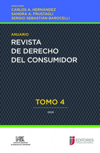 Anuario Revista de Derecho del Consumidor - Tomo IV