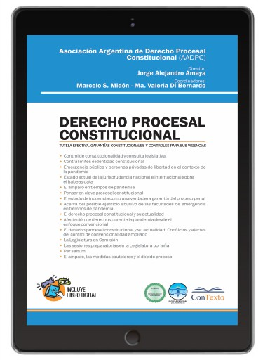 Derecho Procesal Constitucional, Tutela Efectiva, Garantías Constitucionales y Controles Para Sus Vigencias