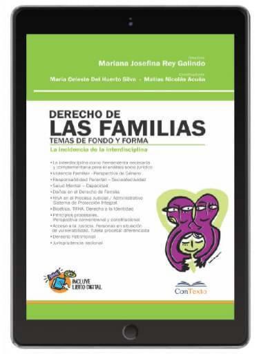 Derecho de las Familias Temas de Fondo y Forma  la Incidencia de la Interdisciplina