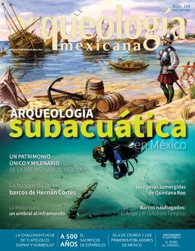 AM 164. Arqueología subacuática en México