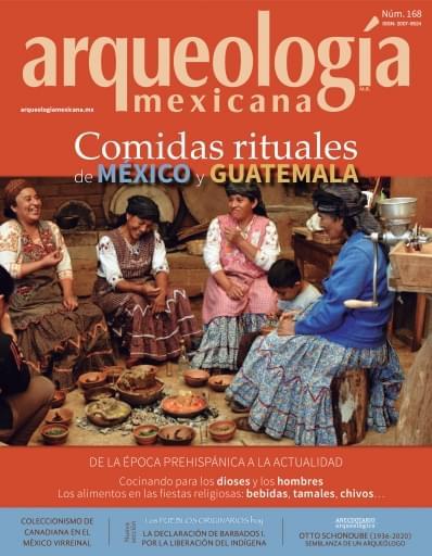AM 168. Comidas rituales de México y Guatemala