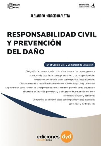 Responsabilidad Civil y Prevención del daño en el CCC - Barletta