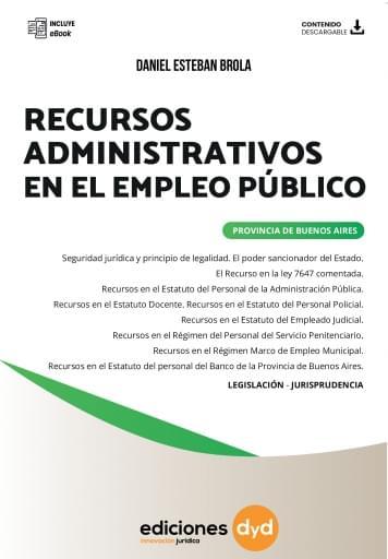 Recursos Administrativos en el Empleo Público - Daniel Esteban Brola