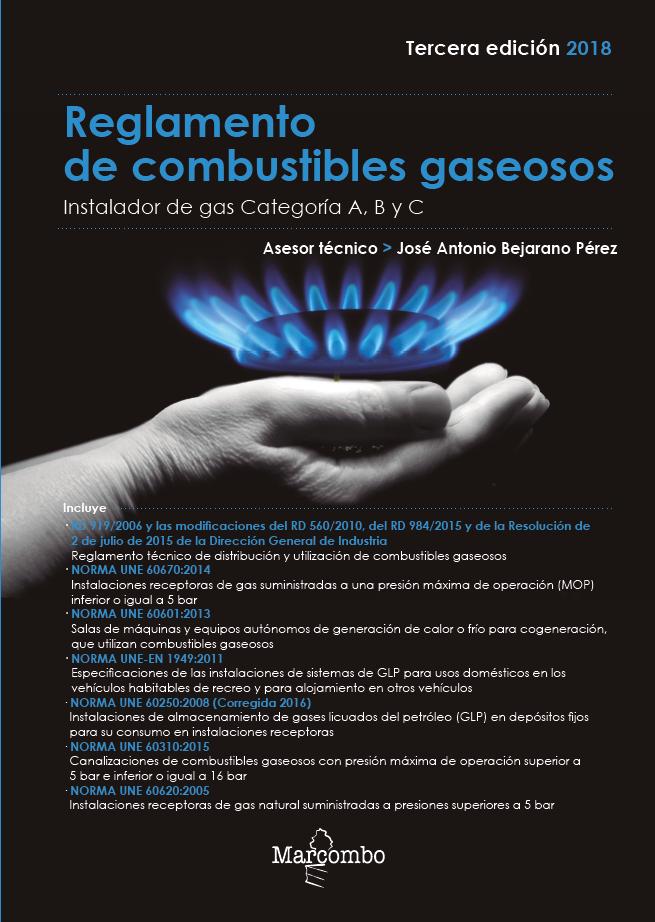 Reglamento de Combustibles Gaseosos 3ªed.