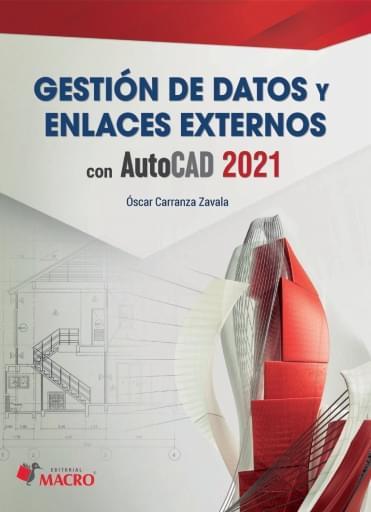 Gestión de datos y enlaces externos con AutoCAD 2021