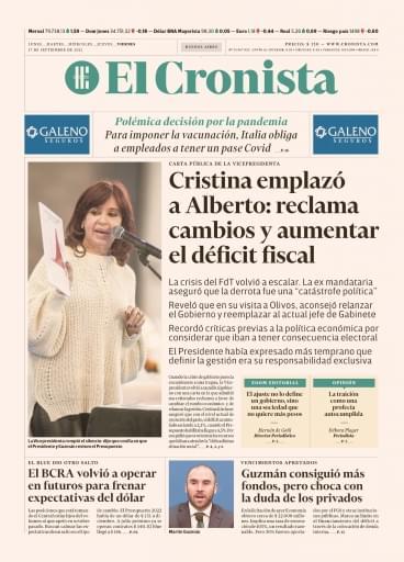 El Cronista 09-17-2021