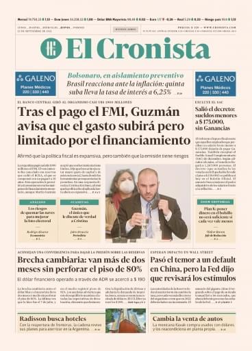 El Cronista 23-09-2021