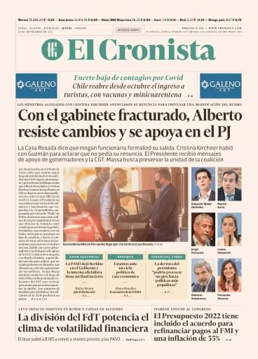 El Cronista 16-09-2021
