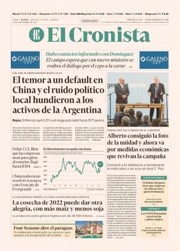 El Cronista 21-09-2021