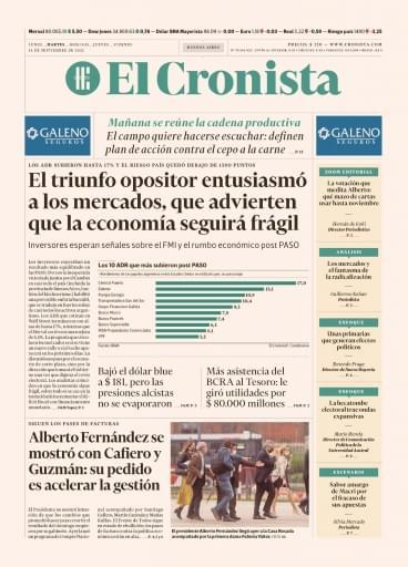 El Cronista 14-09-2021