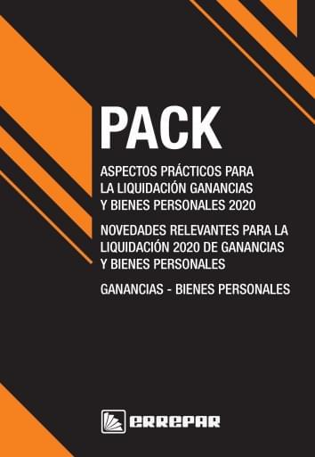 Pack 4 - Ganancias Y Bienes Personales