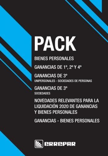 Pack 3 - Personas Humanas Y Jurídicas 2020