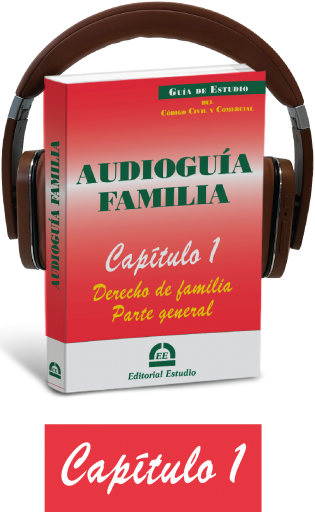 Cap. 1. Derecho de familia. Parte general (audioguía de familia)