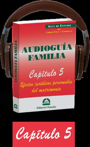 Cap. 5. Efectos jurídicos personales del matrimonio (audioguía de familia)
