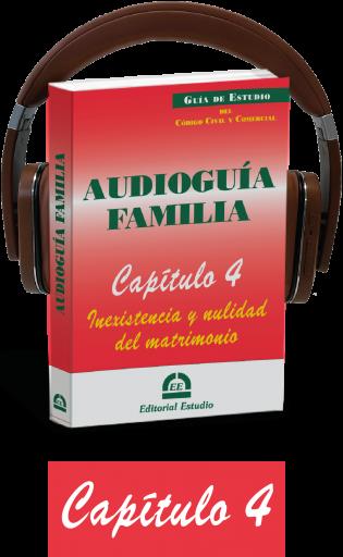 Cap. 4. Inexistencia y nulidad del matrimonio (audioguía de familia)