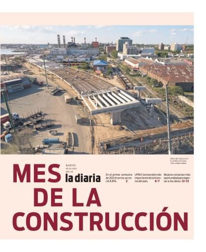 la diaria, suplemento Mes de la Construcción