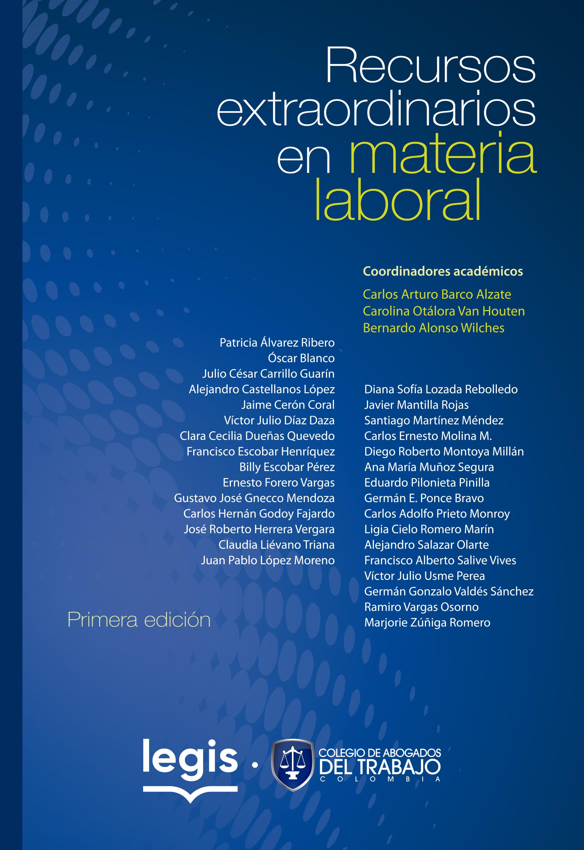 Recursos extraordinarios en material laboral 1a Ed