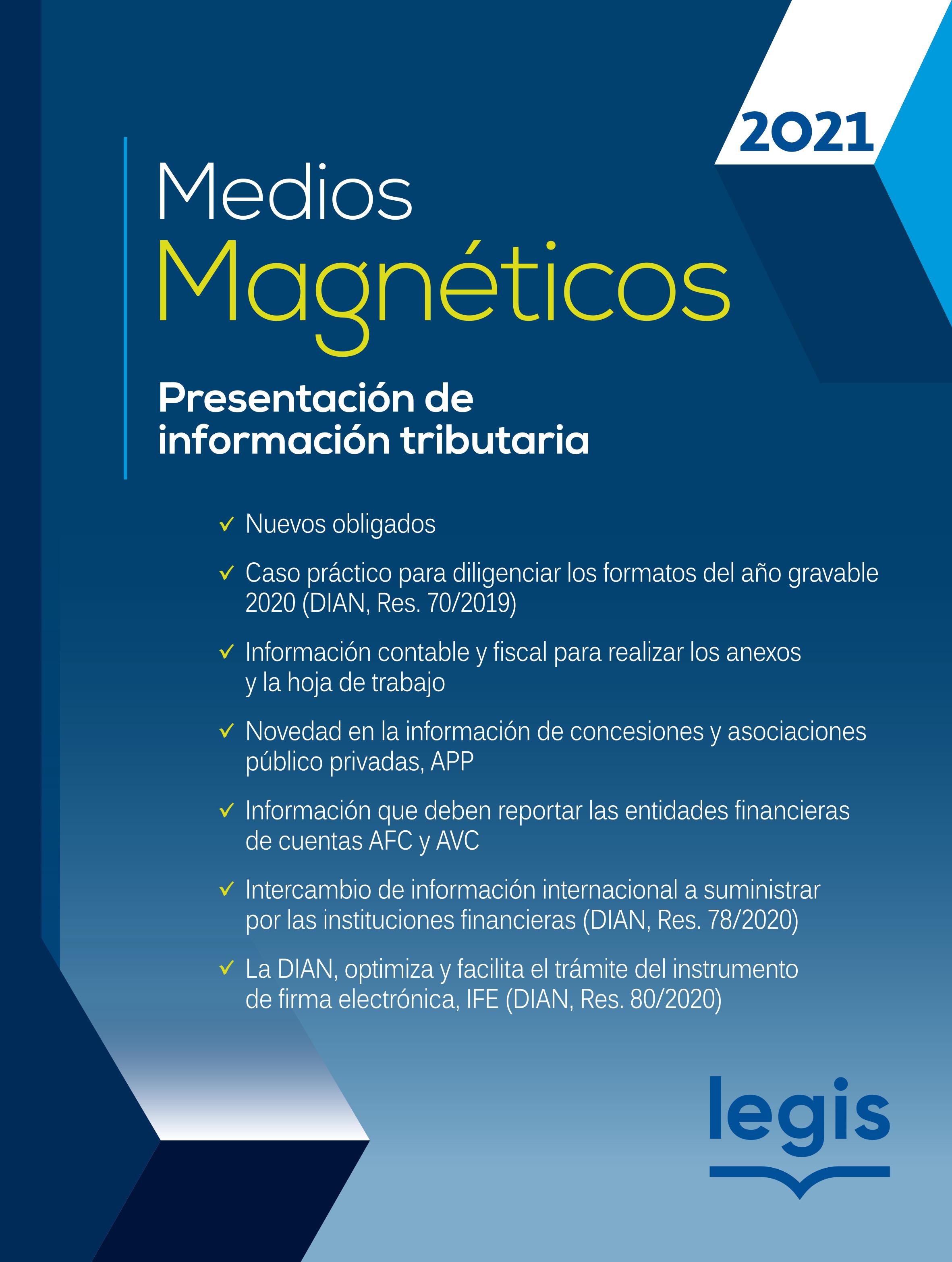 Medios Magnéticos Presentación de Información Tributaria 10 Ed