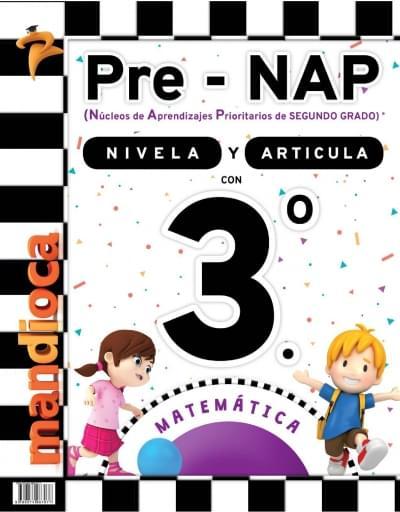 Pre-NAP - Libro Nivelador 3.º - Matemática