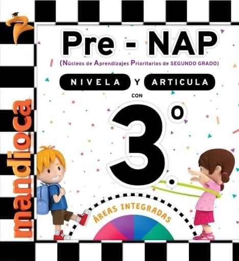 Pre-NAP - Libro Nivelador 3.º - Áreas Integradas