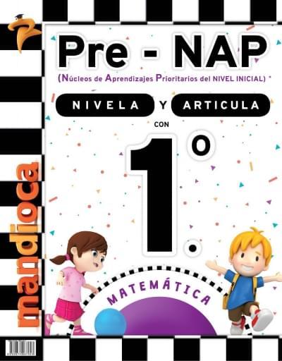 Pre-NAP - Libro Nivelador 1.º - Matemática