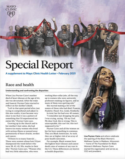 Mayo Clinic Special Report – Race and Health