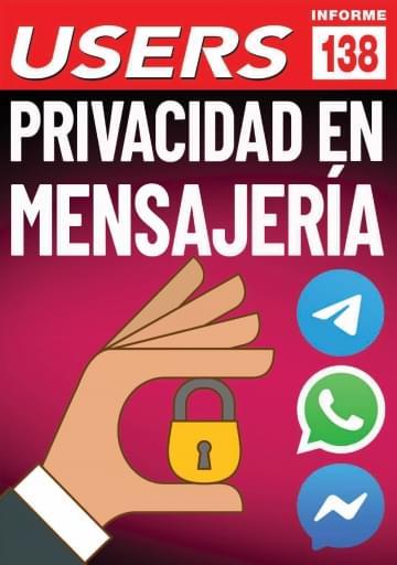 138 Informe USERS Privacidad en mensajería