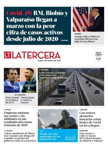 01-03-2021 La Tercera