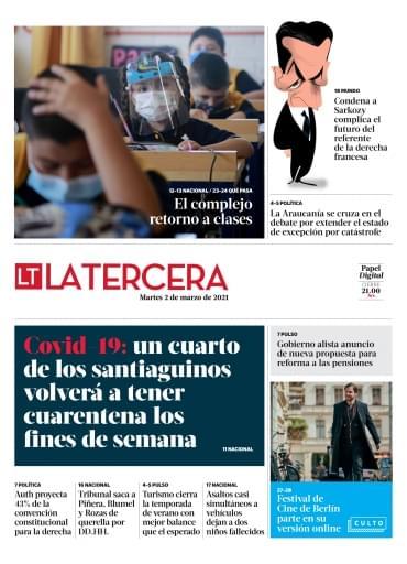 02-03-2021 La Tercera