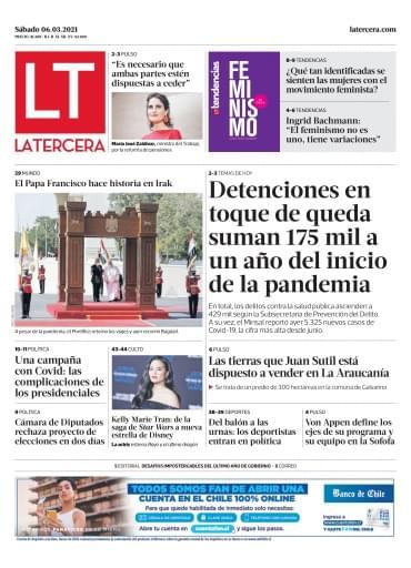 06_03_2021 La Tercera