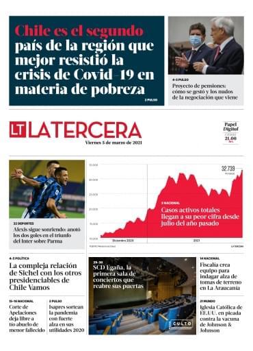 05-03-2021 La Tercera