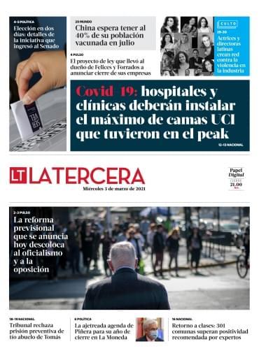 03-03-2021 La Tercera
