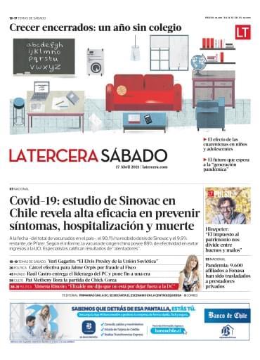 17-04-2021 La Tercera