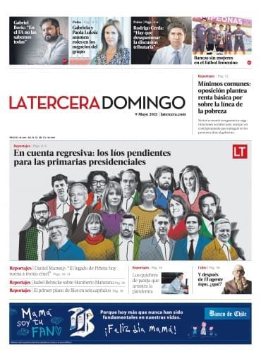 09-05-2021 La Tercera