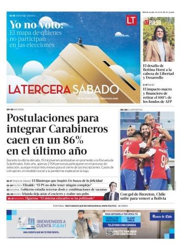 19-06-2021 La Tercera