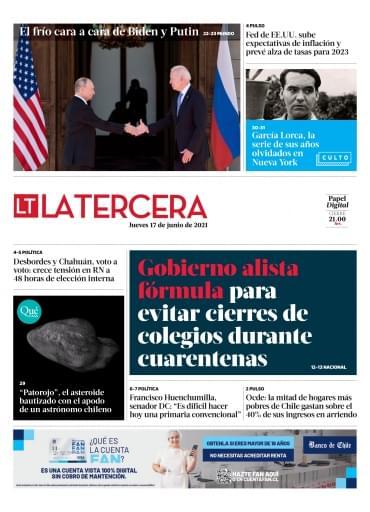 17-06-2021 La Tercera