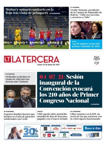 21-06-2021 La Tercera