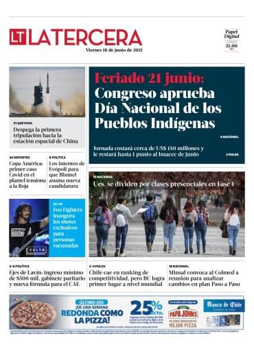 18-06-2021 La Tercera