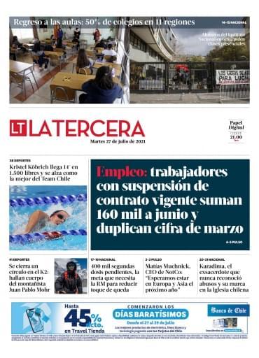 27-07-2021 La Tercera