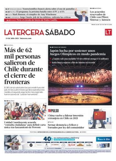 24-07-2021 La Tercera