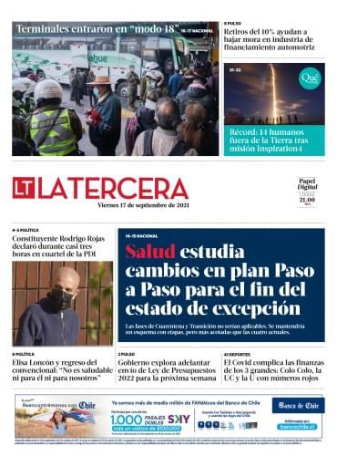 17-09-2021 La Tercera